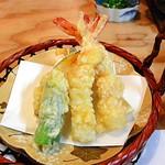 65431813 - 海老と野菜の天ぷら
