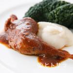 パッソ・ア・パッソ - シェフが修行したトスカーナの郷土料理『キジのもも肉の煮込み』