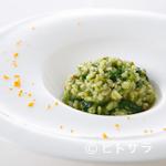 パッソ・ア・パッソ - 菜花が春を彩る『リゾット』
