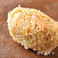 鮨菜 和喜智 - 人気の2ネタを美しい握りで提供する『毛蟹』