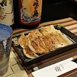 水炊き 積 - 博多一口餃子 (ニンニク有)