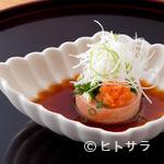 日本料理 菱沼 - フォアグラのようななめらかな舌触り『あん肝ポン酢』
