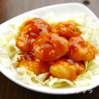 茶坊 玉蘭 - ぷりっぷりの海老の食感と旨みが癖になる『海老チリ』