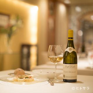 ワインラバー垂涎の名醸ワインもセレクト