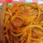 スパゲッティーのパンチョ - ナポリタン   アップ