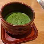 コメダ和喫茶 おかげ庵 - お抹茶