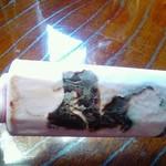 シャトレーゼ - 料理写真:6本入りの外袋捨てちゃったので…いちご味パリパリアイス