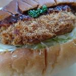 boulangerie JOE - メンチカツサンド