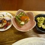 玄三庵 - 副菜 共通