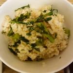 玄三庵 - 菊菜御飯