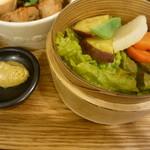 玄三庵 - 蒸し野菜