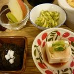 玄三庵 - 副菜
