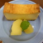 玄三庵 - カマンベールチーズケーキ