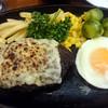 バルバラ - 料理写真:チーズハンバーグ