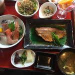 小魚阿も珍 - 神辺御膳(1660円 税別)