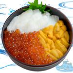 海鮮丼の浦島 - 【うに・いくら・えんがわ】