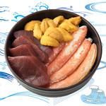 海鮮丼の浦島 - 【うに・ズワイカニ・本まぐろ】