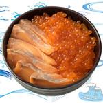 鮭の親子丼