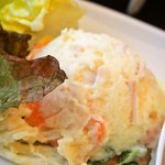 スカイ ラウンジ ニジュウニ - 和牛ステーキランチ(ポテトサラダ)
