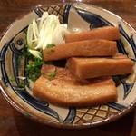 島唄ライブ 琉球 - 2017年04月13日  三枚肉の白ネギ添え 850円