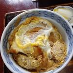 更科甚吾郎 - カツ丼850円