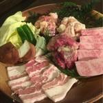 宮崎牛焼肉 炭の杜 祥 - バラエティ盛り