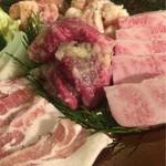 宮崎牛焼肉 炭の杜 祥 - いろんな肉がありますよ