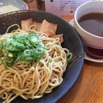 希望軒 - 料理写真:醤油つけ麺