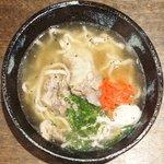 Okinawambamamiana - 軟骨ソーキそば 500円