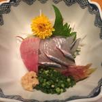 磯 - 料理写真:銚子 かんぬきさよりの刺身