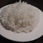 バン蔵 - ライス(大盛り)