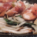 バン蔵 - チキンステーキ アップ