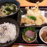 6546738 - 泉州地穴子天ぷら定食