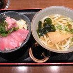 6546739 - 鉄火+ネギトロ丼