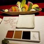 65460239 - 野菜とタレセット