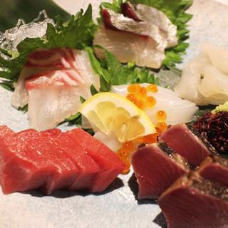 海鮮料理が旨いっ!