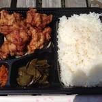 がじまるキッチン - 料理写真:唐揚げ弁当(税込500円)