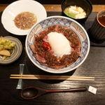 熊本串焼 ノ木口 - 赤身の最高峰 阿蘇あか牛丼 1300円