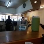 松福 - 客席カウンターのみです