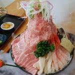 みなと市場 小松鮪専門店 - 「山ほこ丼」