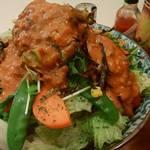 ぼんじゅーる - 「サラダ風スパゲッティ」