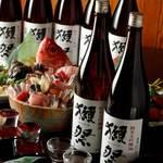 白金魚食堂 - 吟醸香る獺祭50