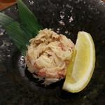 駒沢魚庵 直 - 毛蟹