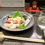 和幸寿司 - お造り盛り合わせ & くどき上手 ばくれん 黒