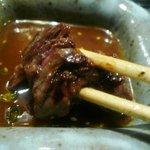 宮崎牛第一号指定店 焼肉の幸加園 - ハラミを食べる