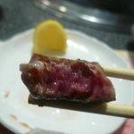宮崎牛第一号指定店 焼肉の幸加園 - ヒレは柔らかい