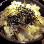 北の味紀行と地酒 北海道 - 炊き込みご飯です