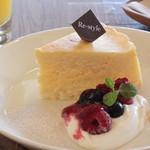 リスタイル プラスカフェ - NYチーズケーキ