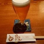 味遊心 中屋 - ビール(グラス)