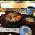 鮨処 銀座福助 - 日替わり丼(1296円)